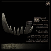 .Eldritch. Orc Teeth - Capped Gnashers