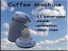 Coffee Machine Light Blue