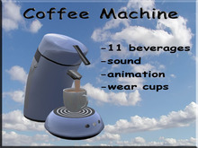 Coffee Machine Light Blue