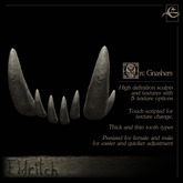 .Eldritch. Orc Teeth - Gnashers