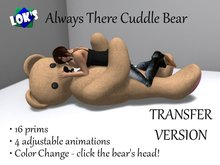 Lok's Always There Cuddle Bear - Cute Gift!