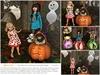 "Aphrodite ""My lil Boo"" Halloween kids gift basket"