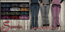 .: Somnia :. Gatcha Yoga Pants Rainbow Pack {Boxed}