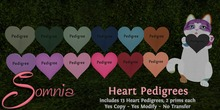 .: Somnia :. Hearts Pedigrees