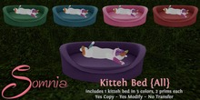 .: Somnia :. Kitteh Bed {All} {Crated}
