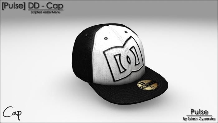 [Pu!se] DD Cap - Black and White