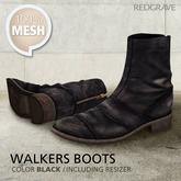 [*RG*] Walkers Boots - Black   *REDGRAVE*
