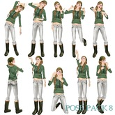 *Fantasista*pose pack 8