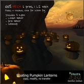 -Hanaya- Floating Pumpkin Lanterns [mesh]