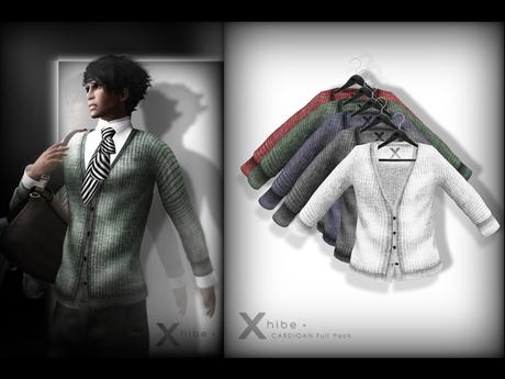 X . h i b e - Full Pack - Cardigan .
