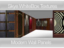 **Skye Textures  PROMO PRICE 136 Modern Wall Panels-  Full Perms Wall Textures