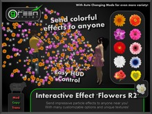●GD● Interactive Effect 'Flowers R2' [Send Multi Color Effects to anyone] HUD controlled particle/texture emitter!