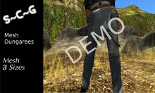 S~C~G Dungarees Mesh  DEMO