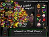 ●GD● Interactive Effect 'Candy' [Send Multi Color Effects to anyone] HUD controlled particle/texture emitter!