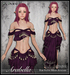 [Wishbox] Arabella (Petites) - Magenta - Fantasy Belly Dance Costume for Petite Mesh Avatars