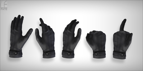FATEwear Gloves - Dexter - Void