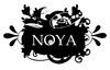 Official noya logo black white