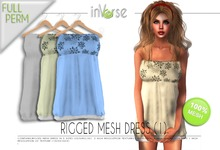 inVerse™ - Full perm rigged dress (1) for developers
