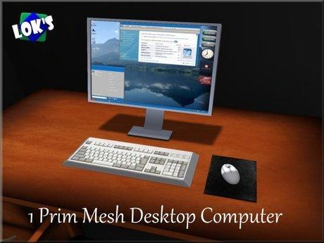 Lok's Desktop Computer (MESH)