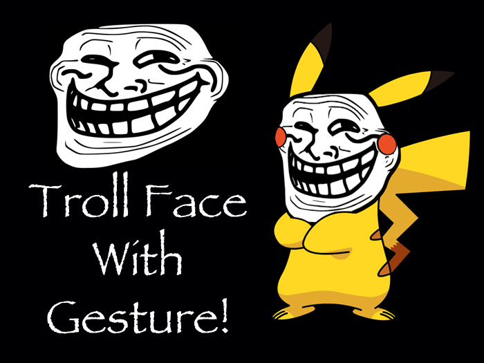 Second Life Marketplace Troll Face