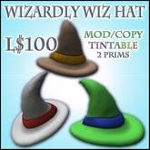 Wizardly Wiz Hat (Tintable)