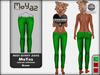 Mia Mesh Skinny Jeans - green