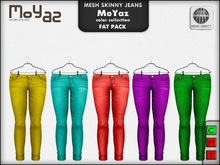 Mia Mesh Skinny Jeans - color collection fatpack
