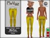 Mia Mesh Skinny Jeans - yellow