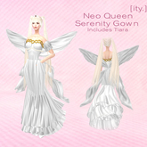 [Ity.] Neo Queen Serenity Gown (Tiara Included)