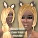 Neko Ears Brown Scripted twitch