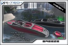 (E-Tech) Breeze MESH Boat + Wake System !!