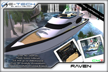 (E-Tech) Raven Yacht Fully Furnished! Drivable & Multi Scene Enabled NEW UPDATE