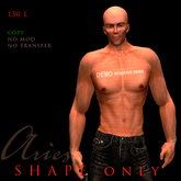 Aries - male avatar shape -  from Lar´s Workshop