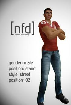 [nfd] Male - Standing Pose - Street 02
