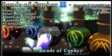 Bands of Cypher - Crystal Crafting Game - Use a Chemistry Set to Create Crystals! & a Home for Yumi Pets!