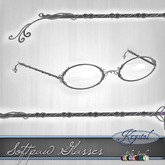 ::: Krystal ::: Softpaw Glasses - Silver (MultiJewel)