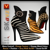 :: V Style SKa V.2 :: Ankle Boots, Leather Boots, Stiletto Boots