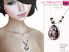 Full Perm Mesh Pendant with Beads and without Beads Necklace Kit - Fashion Kit