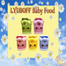 5 LYUBOFF Baby Yogurts & Spoon (5 uses)