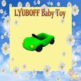 LYUBOFF Toy Green Car (30 uses)