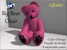 Lok's Big Bear Chair - Giftable (transfer)