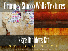 Skye Build Kit Grungey Stucco Walls Textures Full Perms