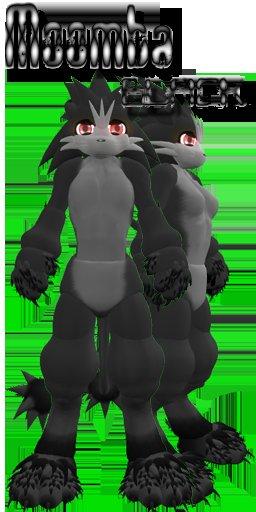 -=[Wulf]=- Moomba [Black] (Boxed)