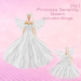 [ity.] Princess Serenity Gown (With Wings)