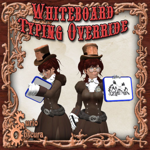 Curio Obscura - Whiteboard Typing Override