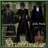Marquis Goth Male Avatar