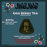 Jingjing Goji Berry Tea - Medicinal Herbs