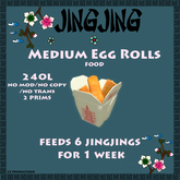 Jingjing Medium Egg Rolls