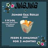Jingjing Jumbo Egg Rolls