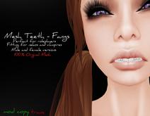 #Ziau# Mesh Teeth - Fangs.